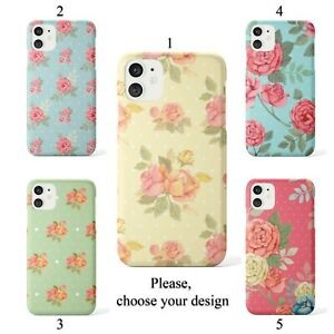 Pastel roses case for iphone 11 12 XR Pro SE Max X XS 8 plus 7 6 cover SN
