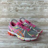 Asics Gel Exalt 2 Womens Size 6 Gray Pink Athletic Training Running Shoes
