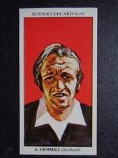 The Sun Soccercards 1978-79 - Archie Gemmill - Scotland #62