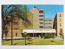 Luther Hospital in Eau Claire, Wisconsin Chippewa County Chrome Postcard Unused