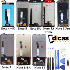 LCD Screen for Xiaomi Redmi Note 4 4X 5 Pro 5A Prime 6 7 8 8A 8T Touch Display
