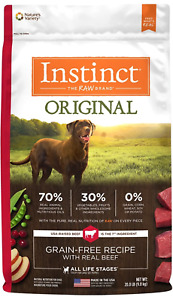 Nature's Variety Instinct Original Grain Free with Real Beef Dog Food