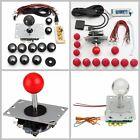 Arcade Game DIY PC Joystick Replacement Part Set Kit USB Encoder + Push Buttons