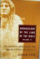 ARCHAEOLOGY OF THE LAND OF THE BIBLE,VOLUME II - EPHRAIM STERN