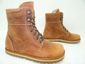 Waldviertler Jaga Flex Boots Stiefelette Stiefel Schuhe Leder Gr.36 Tabasco