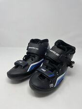 Powerslide R2 Trinity Skates. Size US-8, EUR-41, MM-263.  Black Blue Silver
