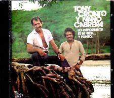 """Tony Croatto y Nano Cabrera -""""Lo importante es la vida""""-  CD"""