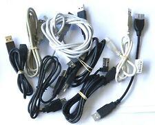 Restposten 9X USB Extender Verschiedene Größe Und Farbe Typ A Stecker zu Buchse