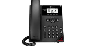Poly VVX150 VoIP/SIP Phone, 2-Lines, 2-Ethernet Ports, PoE - New