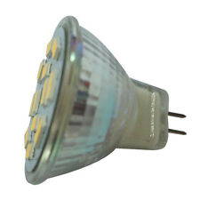 6W GU4(MR11) LED Spotlight MR11 12 SMD 5730 570 lm DC 12V, Warm White E4X4