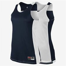 (New)Women's Nike Dry-Fit Reversible Basketball Tank-Top Jersey 626725-420 Sz M