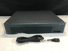 Cisco 3600 3640 Modular Access Router with BRI 4-BU & NM-2FE2W | SN: 364099065