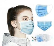 100x Disposable 3 layer Face Mask Protective Surgical mask Mouth Guard