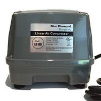 Blue Diamond ET120-A Septic Air Pump With Alarm Pond Air Pump