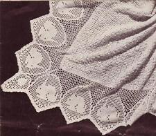 VINTAGE BUNNY SHAWL /3ply square - COPY Baby shawl pattern
