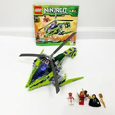LEGO Ninjago 9443 Rattlecopter Complete Retired W/ Manual