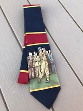 Polo Ralph Lauren Vintage Silk Tie Man Golf Golfing