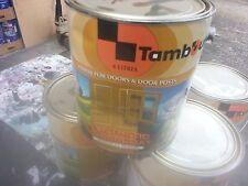 TAMBOUR 4 LITRE INTERIOR/EXTERIOR OIL-BASE UNDERCOAT VIVID-WHITE COLOUR PAINT