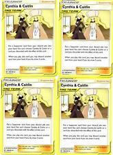 Pokemon Trainer Set - Cynthia & Caitlin 189/236 -Cosmic Eclipse -4 CARD SET-NM/M