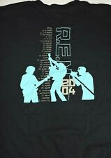 Rem R.E.M. 2004 tour t shirt medium black vintage soft tee Around The Sun