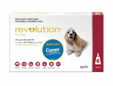 Revolution for Dogs Flea & Worm Control, 10.1-20kg - 6 Pack
