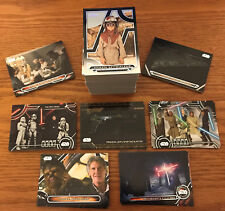 2018 Topps Star Wars Galactic Files Complete Master Set (272) Cards w/ Inserts