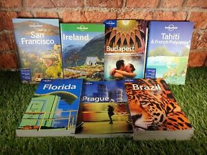 Lonely Planet Travel Books BRAZIL FLORIDA IRELAND SAN FRANCISCO PRAGUE TAHITI