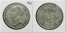 Netherlands - 2½ Gulden 1847 Zeer Fraai