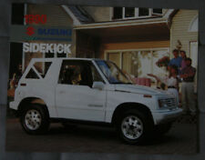 SUZUKI SIDEKICK 1990 dealer brochure - French - Canada  - ST501001217