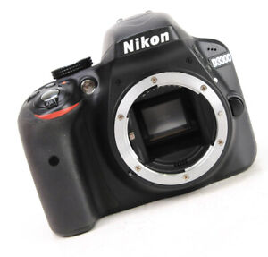 Nikon D3300 DSLR Camera - Body Only + Only 1,460 Shots Taken - Spares & Repairs