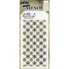 Tim Holtz Layering Stencil ~ FLURRIES ~ THS151 ~ Stampers Anonymous
