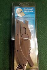 "Bill Blade BLB001GY Gray Full Tang Fixed 2"" Carbon Steel Knife Self Install Kit"