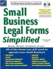 Small Business Legal Forms Simplified: The Ultimate Guide to Business-ExLibrary