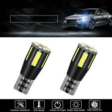 2x CANBUS 501 Cree Bulbs LED Xenon White T10 5W Error Free 2019 Car Sidelights