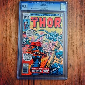 Thor # 261 Marvel 1977 Cgc 9.6