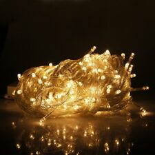 6M x 3M Fairy Curtain String Light Hanging Backdrop Wall Lights Wedding Party UK