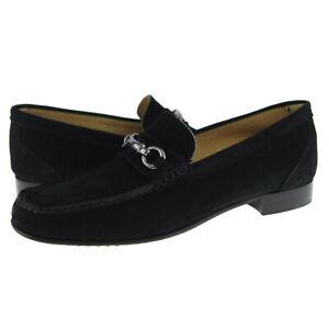 "Alex D ""Glendale"" Suede Bit Loafer, Men's Dress/Casual Shoes, Black"