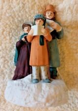 Dickens Style Carolers Holiday Figurine Family Christmas       K3