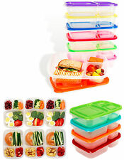 Pack of 3 Food Storage Box Lunch box Sandwich Box Multi-Coloured Eco-Friendly
