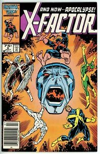 X-Factor #6(1986) - 8.0 VF *1st Appearance Apocalypse* Newsstand