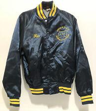Oregon State Highway Division 35 Years Blue Varsity Jacket Shiny Size 40-42 USA