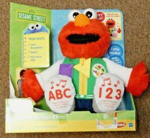 Sesame Street Ready for School Elmo Talks and Sings