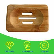 Burly-wood Soap Storage Holder Natural Wooden Soap Box Travel Soap Rack#^