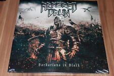 Armored Dawn - Barbarians In Black (2018) (Vinyl, White) (AFM 676-1) (Neu+OVP)