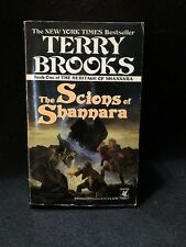 The Scions Of Shannara By Terry Brooks 1991 Mass Market Edition Good Condition