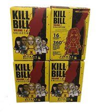 Titans Kill Bill Volume 1 Collection Random Mini-Figure 4 Boxes