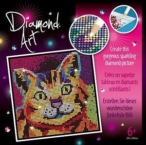 Diamond Art 2022 Kitten craft kit - painting by diamonds project