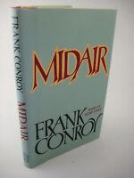 1st Edition Midair Frank Conroy Novel First Printing Fiction