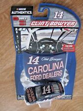 Clint Bowyer #14 Carolina Ford Dealers NASCAR AUTHENTICS  New Sealed In Package