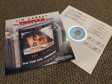 The Truman Show Laserdisc Drama Jim Carrey Widescreen